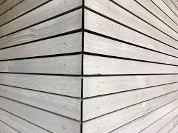 Fichten Fassade Mit Grauer Oberfläche Holzfassade Wood Cladding