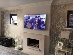 tv above fireplace too high 45 fascinating ideas on large tv over