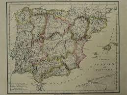 Spain Portugal N N Charte Von Spanien Und Portugal Ca 1795 Catawiki