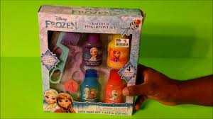 frozen bathtub fingerpaint set