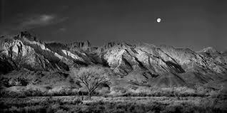 whitney black white. Delighful White Moon Over Mount Whitney To Black White