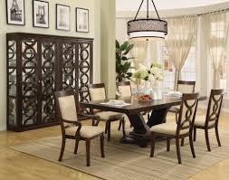 Cool Oversized Formal Dining Room Table Set Plus Comfy Upholstered - Oversized dining room tables