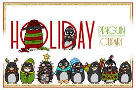 holiday penguin clip art. Fine Clip Holiday ClipartPenguin ClipartChristmas ClipartCartoonSticker Clipart Digital Intended Penguin Clip Art T
