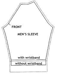 Raglan Sleeve Pattern Awesome How To Cut Out The Pattern For Men's Raglan Jacket Fashion Freaks