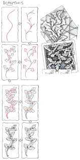 Official Zentangle Patterns Interesting Inspiration Ideas