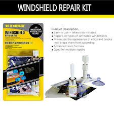 diy windshield repair kit car glass repair tool window screen repair fluid