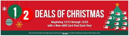top deals on gift cards for 2018