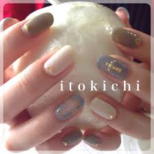 夏から秋ネイルへ福岡市中央区のネイル爪のお手入れサロンitokichi