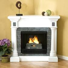 corner electric fireplace image of real flame cau corner electric fireplace stacked stone corner electric fireplace