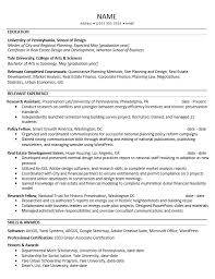 Urban Planning Resume Free Resume Templates 2018