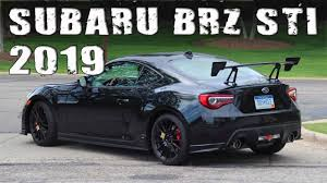 All-New 2019 Subaru BR-Z STI Prototype  .