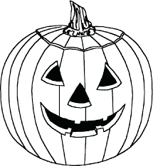 Coloring Pages Pumpkin This Is Best Pumpkin Outline Printable