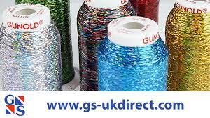 Gunold Machine Embroidery Designs Gunold Glitter Embroidery Thread