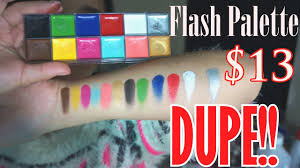makeup for ever flash palette dupe