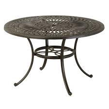 hanamint mayfair 54 round counter fire bar table outdoor furniture sunnyland outdoor patio furniture dallas fort worth tx