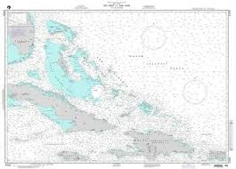 Nga Nautical Chart 27005 Key West To San Juan 26 95