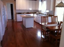 white brown colors kitchen breakfast. Simple Breakfast Sweet Hardwood Gloss White Cabinets With Small Island Sink As Well  Wooden Breakfast Table Set In Open Floor Interior Plans For Brown Colors Kitchen R