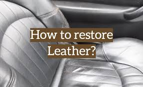 how to renovate your old leather item with a repair kit
