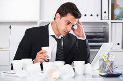 hot office pic. Businessman Feeling Thirsty In Hot Office Stock Image Pic