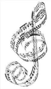 Ooh I Love This Hudba Hudební Noty Houslový Klíč Hudba
