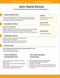 Resume Software Download Free Download Resume Format For Software