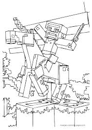 Coloring Pages Of Minecraft Coloring Pages To Print Coloring Pages
