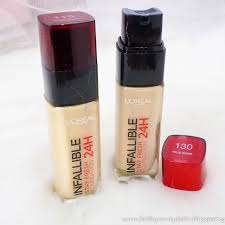 loreal infallible 24h foundation review singapore