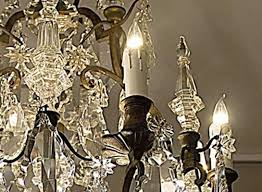 french antique lighting