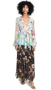Rococo Sand Size Chart Rococo Sand Womens Long Dress Colorful Off White Floral