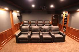Theatre Rooms In Homes Theater Rooms In Basement Home Design Ideas