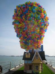 Up House Balloons Pixar Up Balloons Hd Photos Gallery