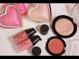 Makeup Revolution обзор и отзывы, часть 1: румяна и <b>хайлайтеры</b>.