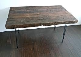 stunning natural brown wooden diy corner desk. Recycled-wood-desk Stunning Natural Brown Wooden Diy Corner Desk