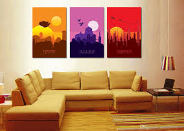 Modern Art Paintings For Living Room 2017 3 Panel Modern Art Painting Canvas Prints Star Wars Planet
