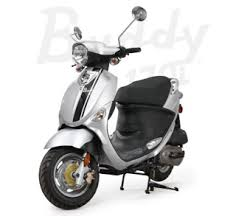 genuine buddy motor scooter guide buddy 170i zephyr silver