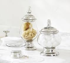 mercury glass bathroom accessories. Evleen Mercury Glass Bath Accessories Bathroom Z