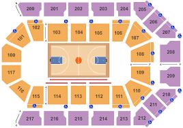 Mechanics Bank Arena Seating Chart Bakersfield