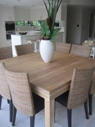 dining room tables chairs square: beachwood furniture solid limed oak modern square dining table