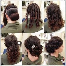 elegant updo hairstyle in only 6 steps b & g fashion Wedding Hairstyles Step By Step hair curler; brush the curls quietly and then twist them approximately the bun we before created secure the curls with bobby pins fancy hairstyles step by step for wedding