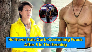 Tiger Shroff Diet Plan Chart The Secrets Behind The Six Pack Abs And Flexible Body Of