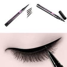 New Black Waterproof Eyeliner Liquid <b>Eye Liner</b> Pen Pencil Makeup ...