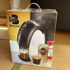 So until the coffee capsules arrive, i'm sol. Leather Machine Cover For Nescafe Barista For Sale Online Ebay
