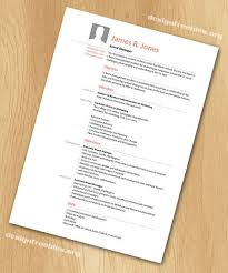 Resume Template Indesign Free