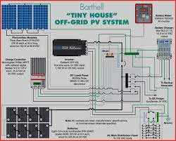 solar power system wiring diagram taking a tiny house f grid