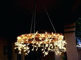 chandelier outdoor candle outdoor candle chandelier non electric