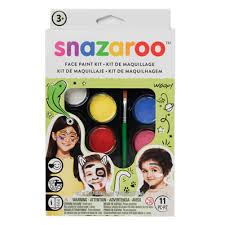 Snazaroo Face Paint Palette Kit Rainbow