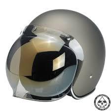 biltwell bubble visor gold mirror
