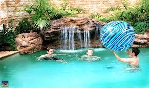 Inground Pool Rock Waterfall Kits Kit Pool Design