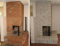 brick painting ideasPainted Brick Fireplace  articleseccom