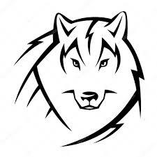 Vlk Tetování Stock Vektor Reinekke 50929959